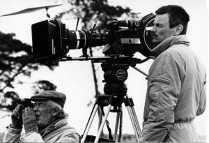 "Andrei Tarkovski au tournage du film ""Nostalgie"" (Italie, 1983)"