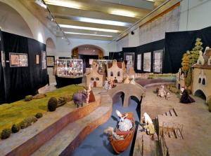 Les salles du Musée de l'Animation Russe à Moscou