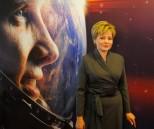"""Elena Gagarina, la fille de Youri Gagarine, à la première du film """"Gagarin : First in Space"""", à Vienne."""