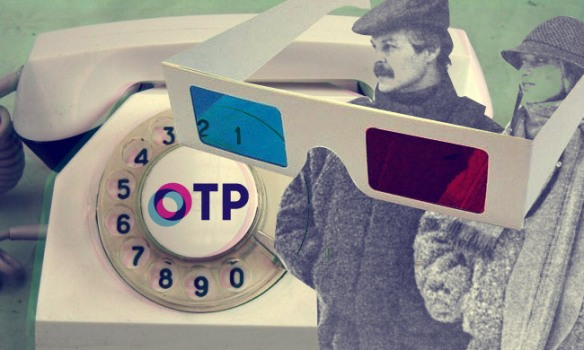 OTP (en russe) c'est l'abréviation de la Télévision Publique Russe)