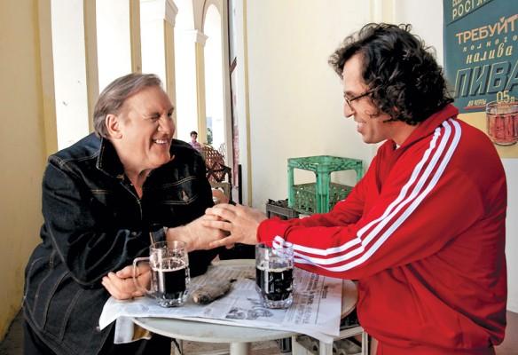 Gérard Depardieu dans le rôle de Jora