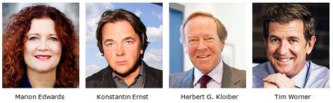 Les lauréats de la Médaille d'Honneur du MIPTV 2014
